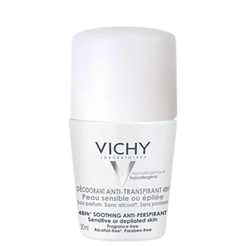 Vichy 48h Soothing Anti-Perspirant - Desodorante Roll-on 50ml