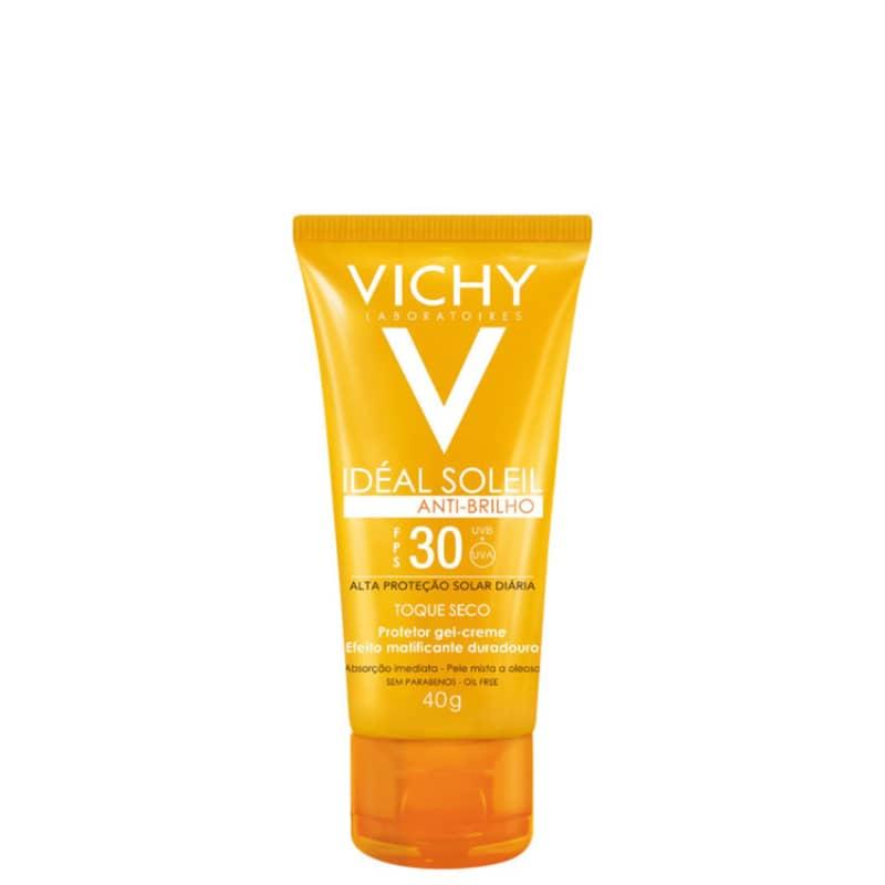 Vichy Idéal Soleil Anti-Brilho FPS30 - Protetor Solar Facial 40g