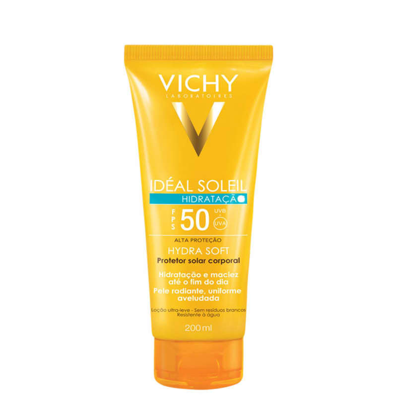 Vichy Ideal Soleil Hidra Soft FPS50 - Protetor Solar 200ml