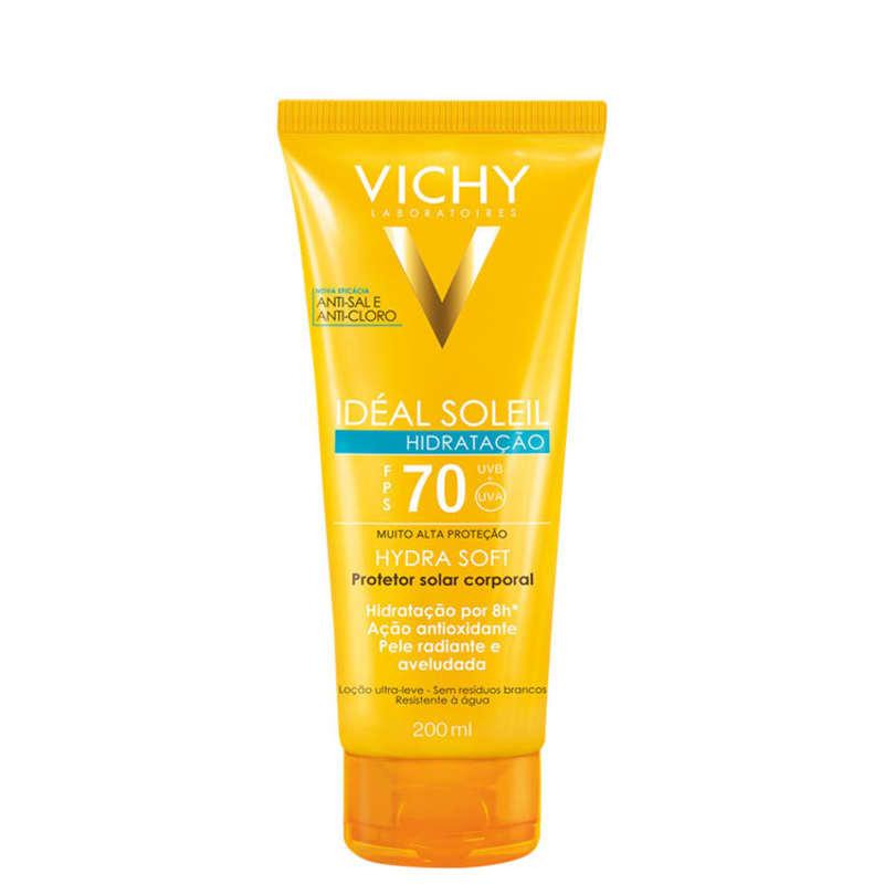 Vichy Ideal Soleil Hidra Soft FPS70 - Protetor Solar 200ml