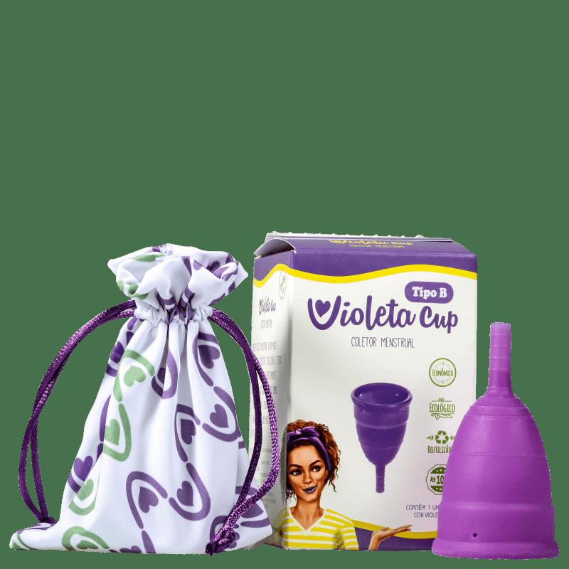 Violeta Cup Violeta Tipo B (-30 anos ou sem filhos) - Coletor Menstrual