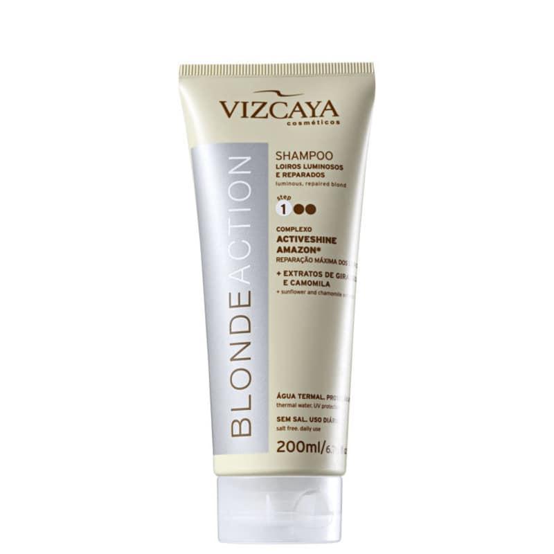 Vizcaya Blonde Action - Shampoo sem Sal 200ml