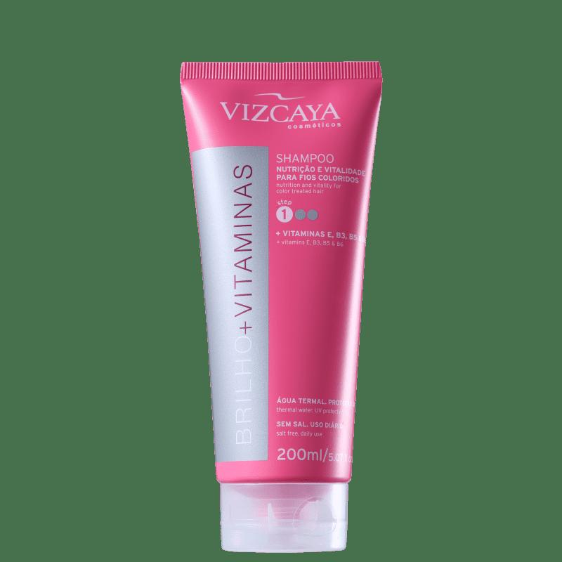 Vizcaya Brilho e Vitaminas - Shampoo sem Sal 200ml