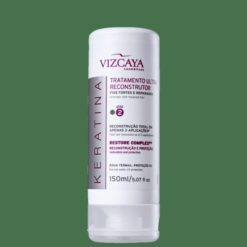 Vizcaya Keratina Ultra - Tratamento Reconstrutor 150ml