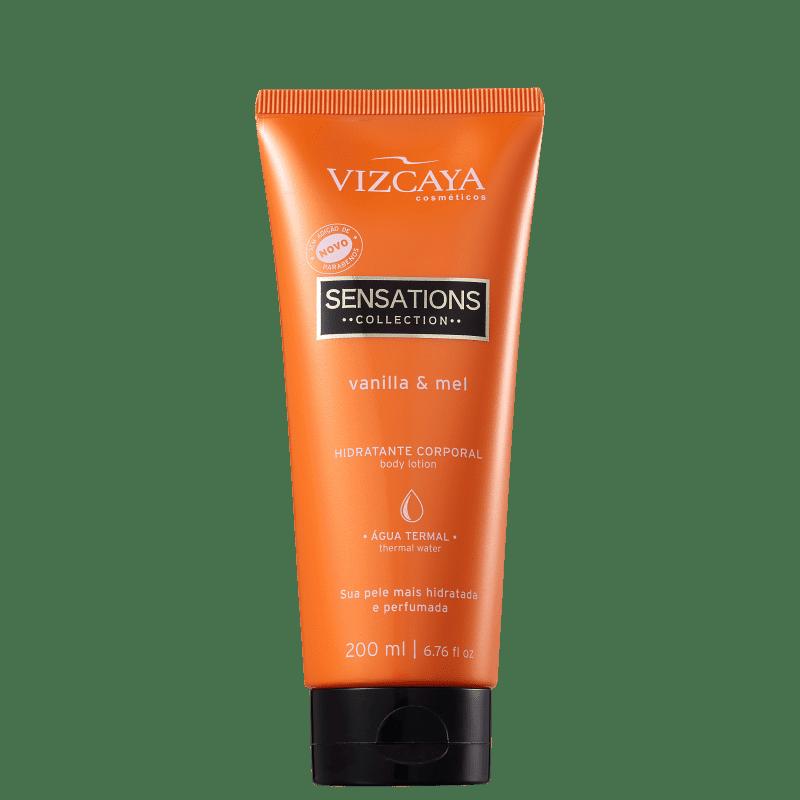 Vizcaya Sensations Vanilla & Mel - Creme Hidratante Corporal 200ml