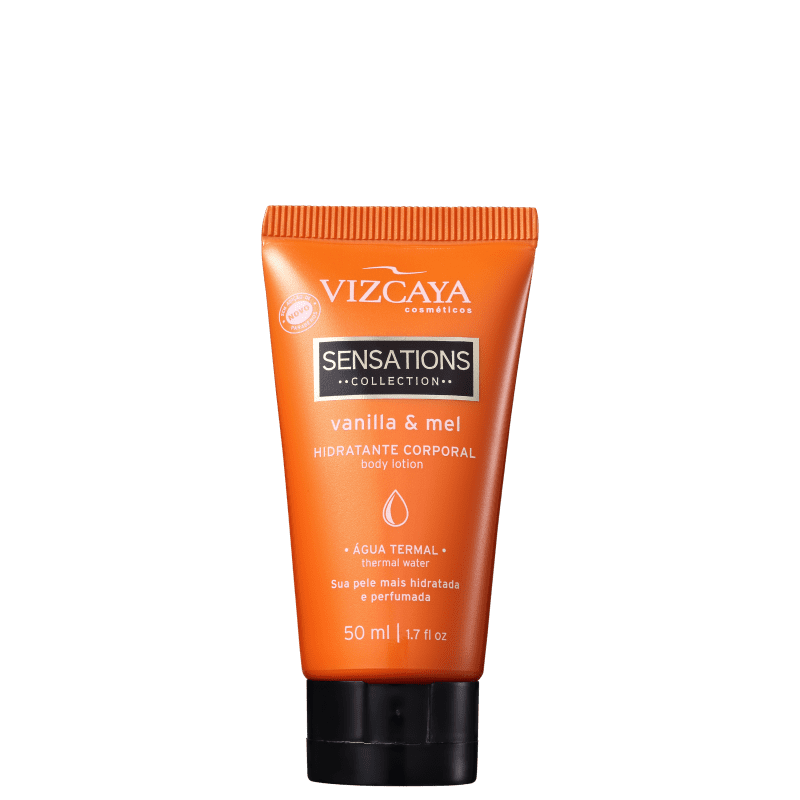 Vizcaya Sensations Vanilla & Mel - Creme Hidratante Corporal 50ml