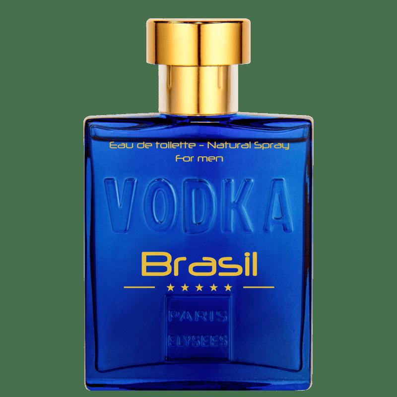 Vodka Brasil Blue Paris Elysees Eau de Toilette - Perfume Masculino 100ml