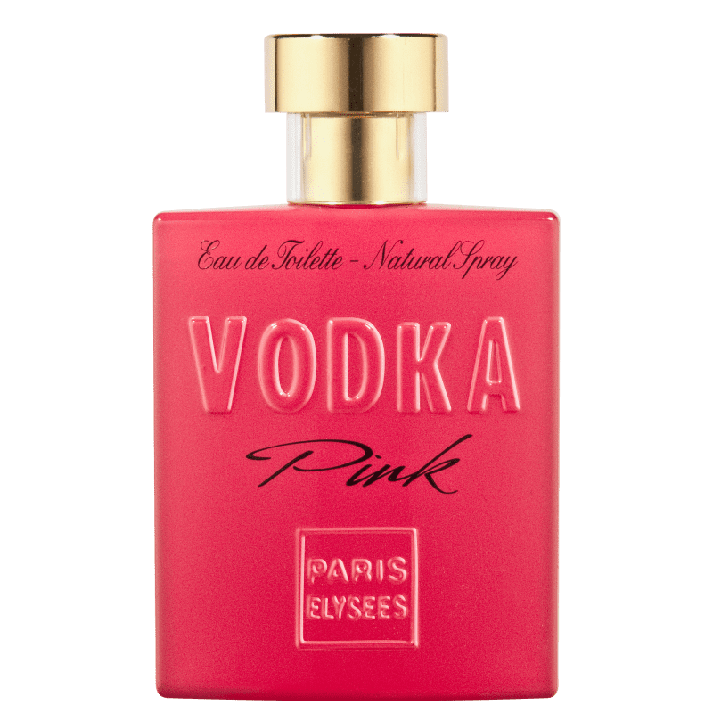 Vodka Pink Paris Elysees Eau de Toilette - Perfume Feminino 100ml