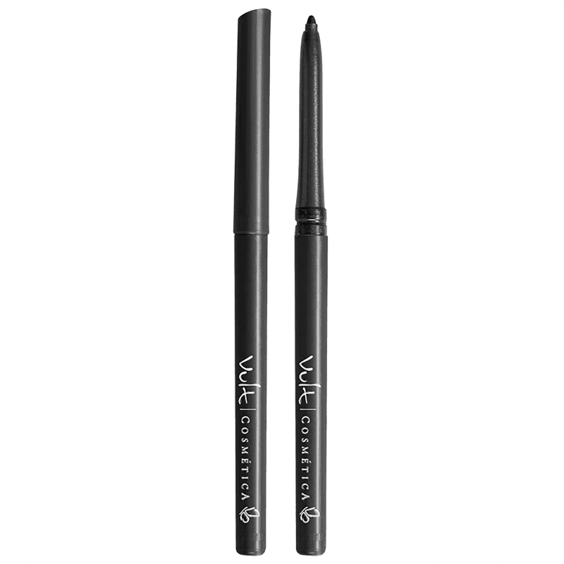 Lápis para Olhos Vult Retrátil Preto Opaco 0,28g