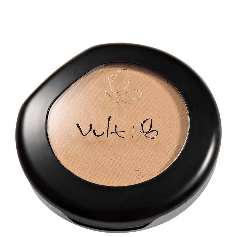 Pó Compacto Vult Make Up Matte 08 Marrom 9g