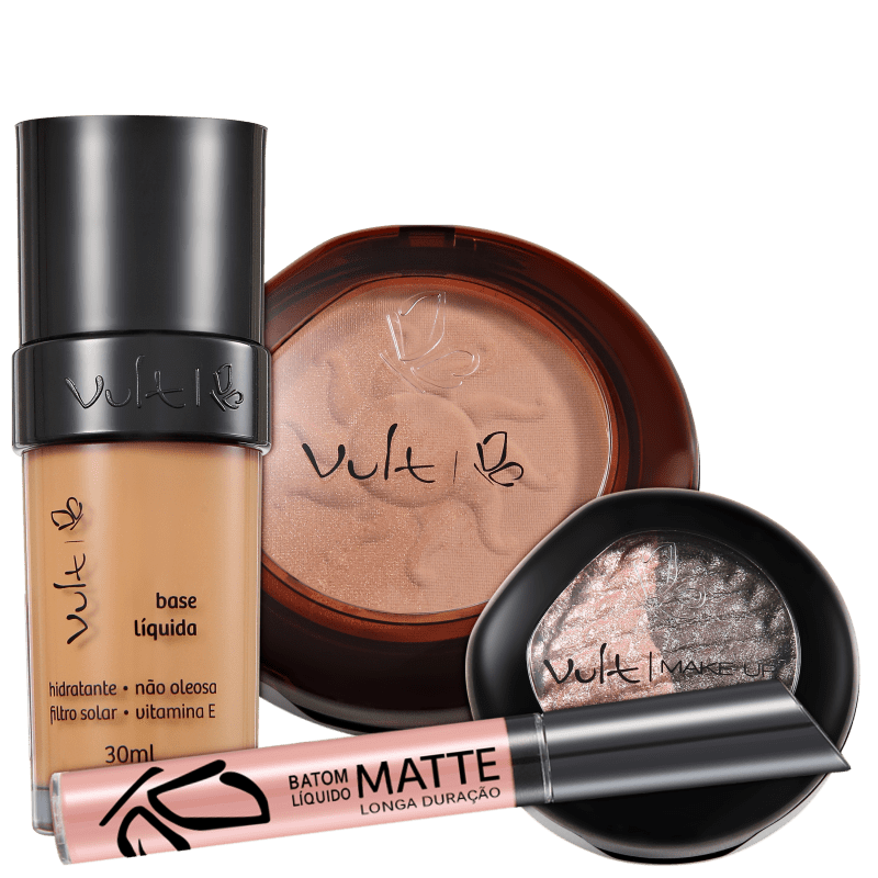 Vult Make Up Baked Soleil 03 Kit (4 Produtos)