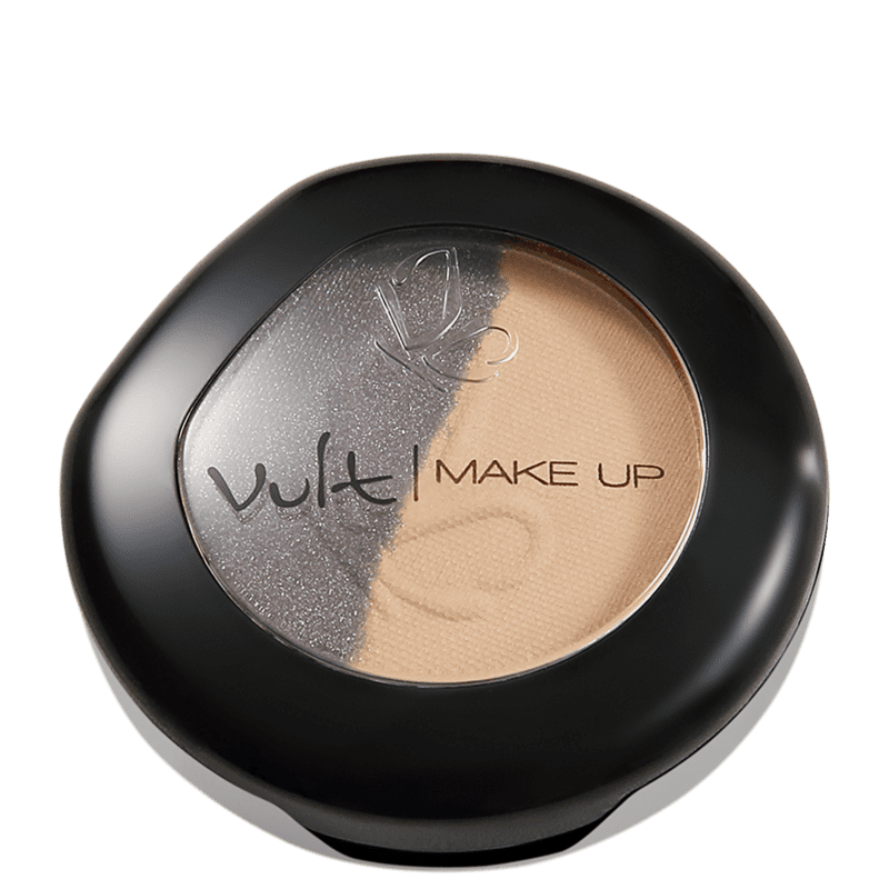 Sombra Vult Make Up Duo 15 Brilho / Opaco 2,5g