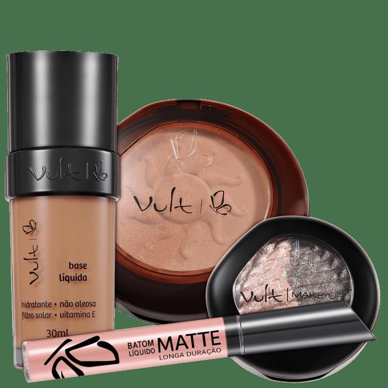 Vult Make Up Duo Soleil Baked 01 Kit (4 Produtos)
