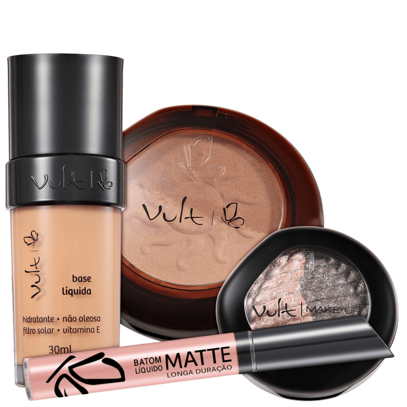 Vult Make Up Perfect Look 02 Kit (4 Produtos)