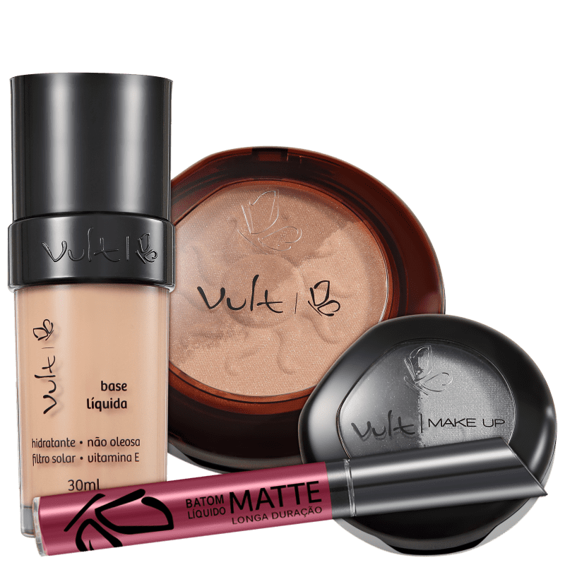 Kit Vult Make Up Total (4 Produtos)