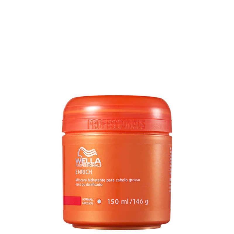 Wella Professionals Enrich Coarse Hair - Máscara de Hidratação 150ml