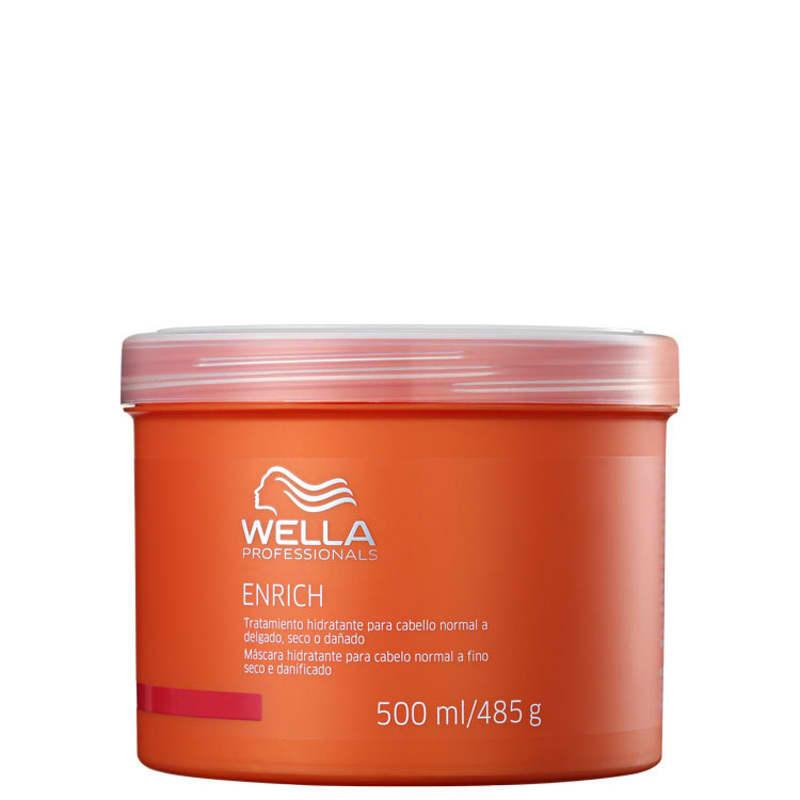 Wella Professionals Enrich Fine to Normal Hair - Máscara de Hidratação 500ml