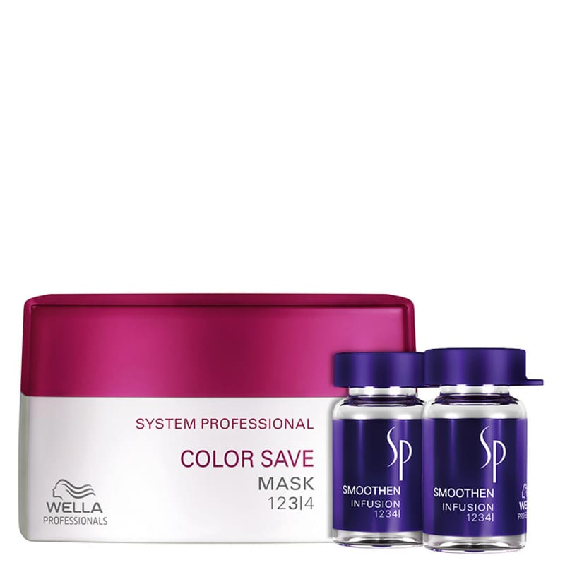 Kit SP System Professional Color Save Smoothen (3 Produtos)