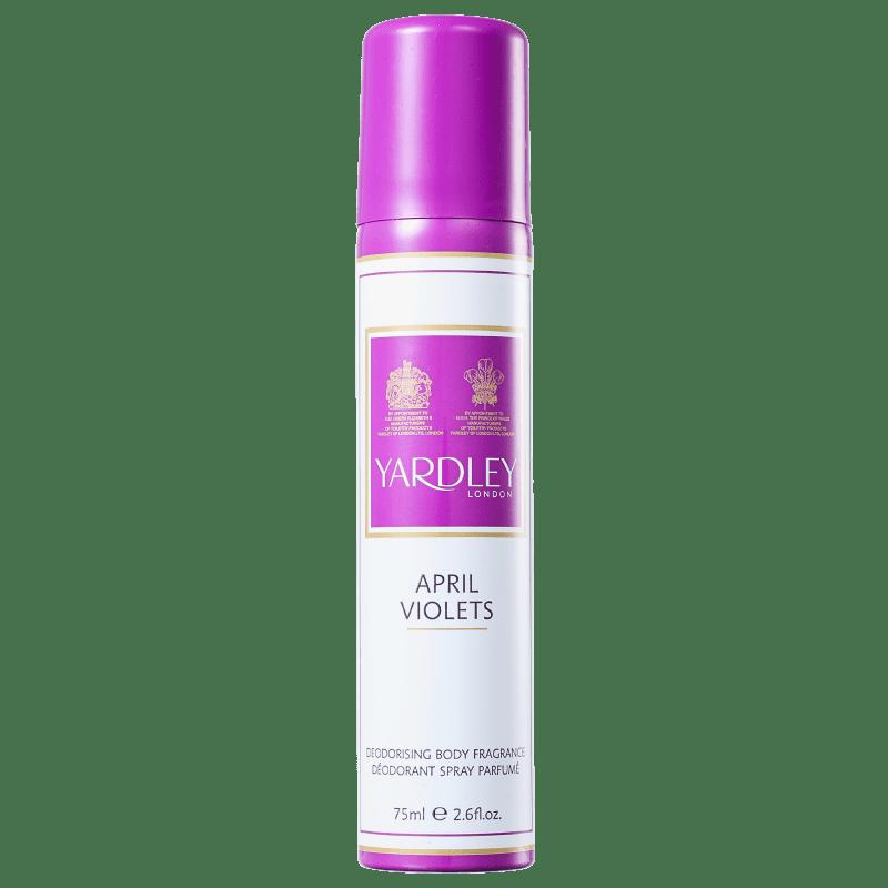 Yardley April Violets - Desodorante Feminino 75ml