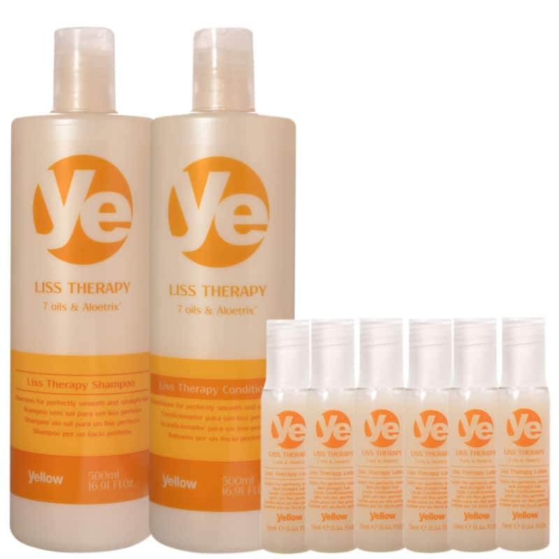 Kit Yellow Liss Therapy Lotion (3 Produtos)
