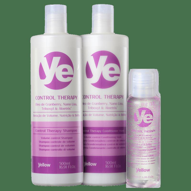 Kit Yellow YE Control Therapy Oil (3 Produtos)