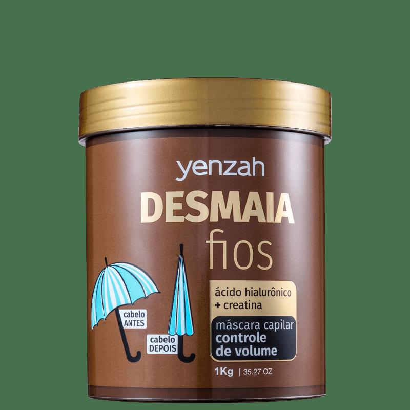 Yenzah Desmaia Fios - Máscara Capilar 1000g