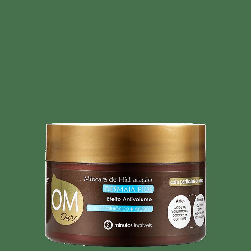 Yenzah OM Ouro Desmaia Fios - Máscara de Hidratação 300g