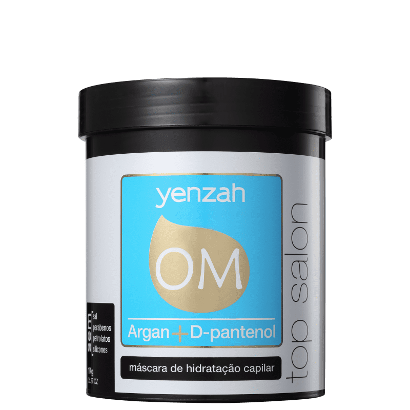 Yenzah OM Top Salon - Máscara de Hidratação 1000g