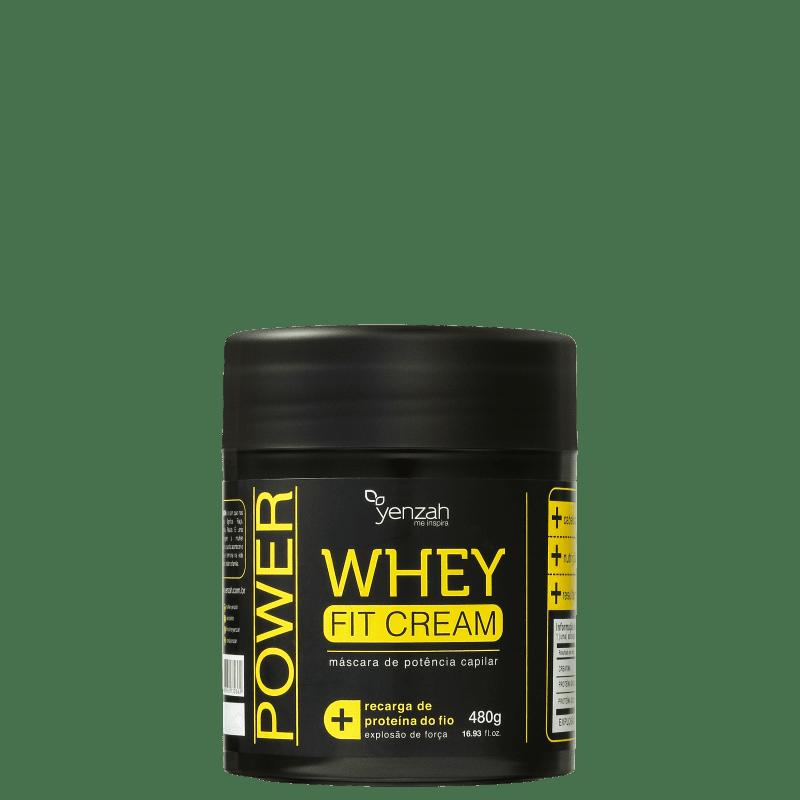 Yenzah Power Whey Fit Cream - Máscara Capilar 480g