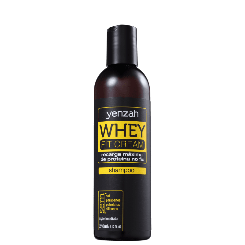 Yenzah Power Whey Fit Cream - Shampoo 240ml