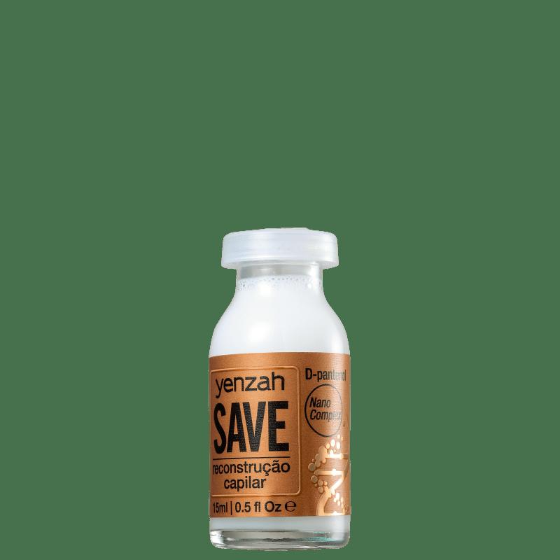 Yenzah Save - Ampola de Reconstrução 15ml