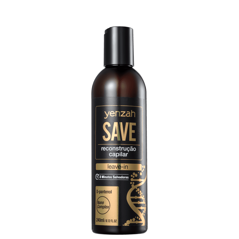 Yenzah Save Reconstrução Capilar - Leave-in 240ml