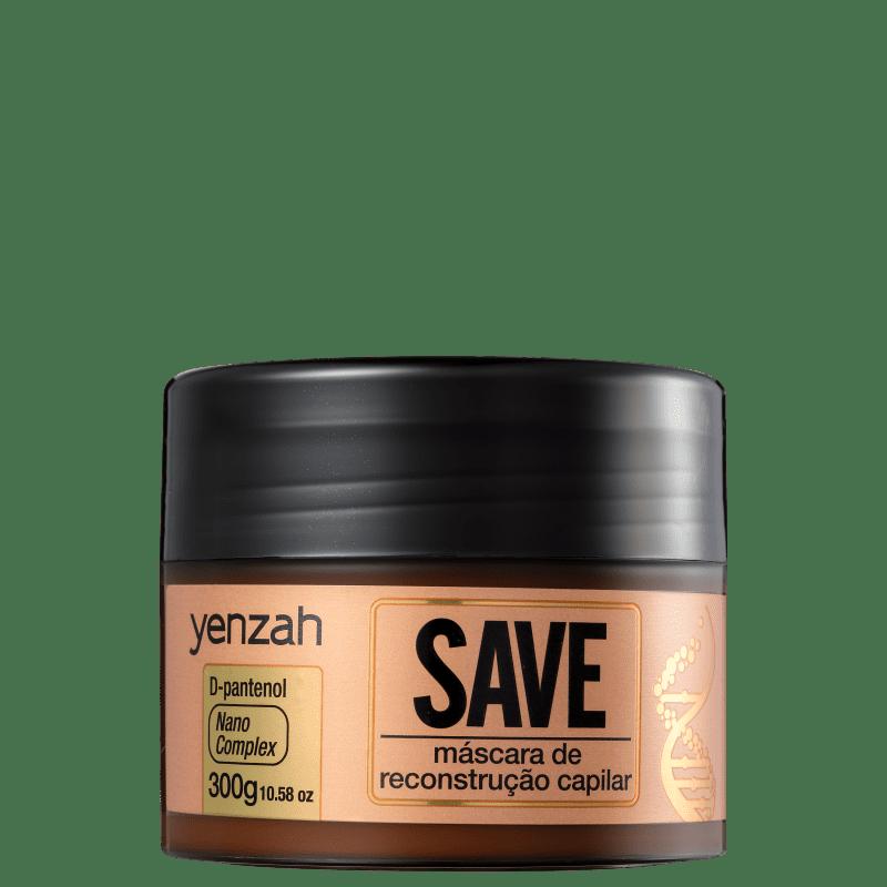 Yenzah Save Reconstrução Capilar - Máscara de Reconstrução 300g