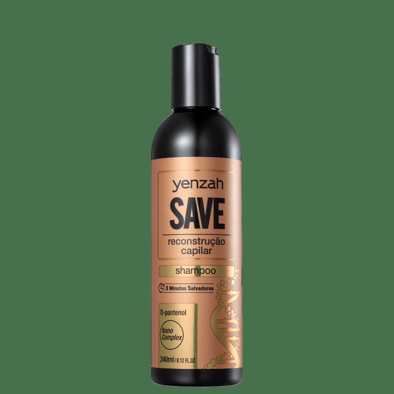 Yenzah Save Reconstrução Capilar - Shampoo 240ml