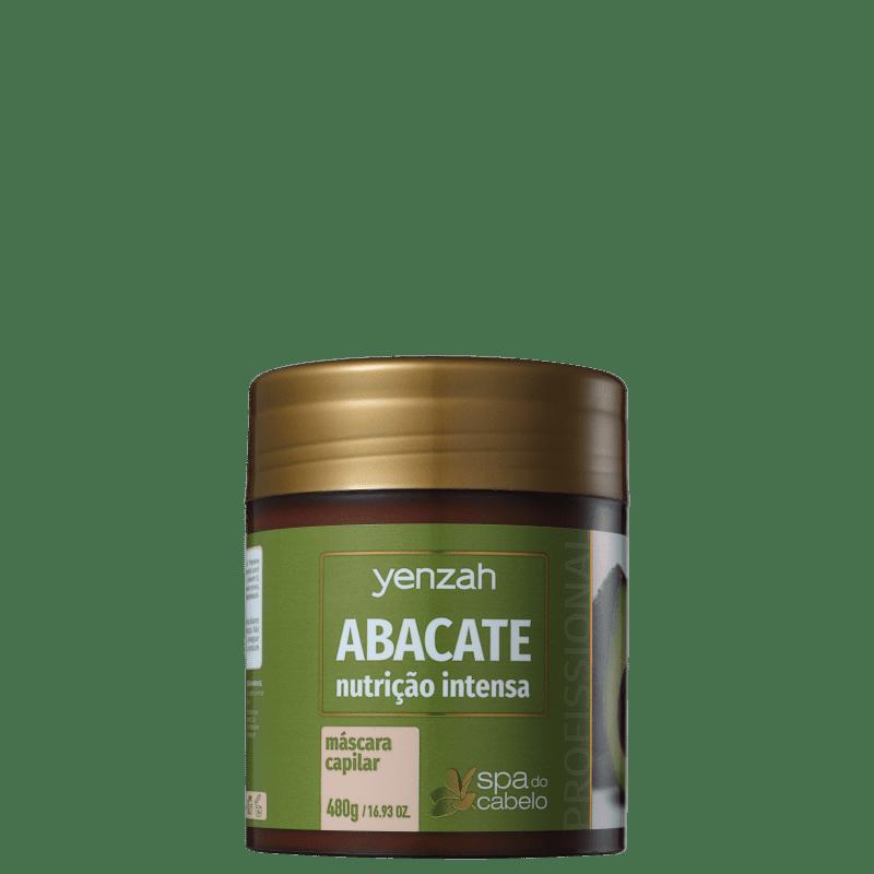 Yenzah SPA dos Cabelos Abacate - Máscara Capilar 480g