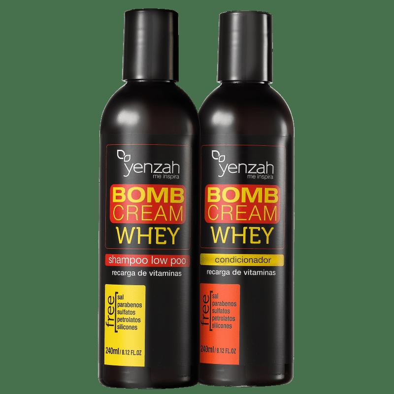 Kit Yenzah Power Whey Bomb Cream Duo (2 Produtos)
