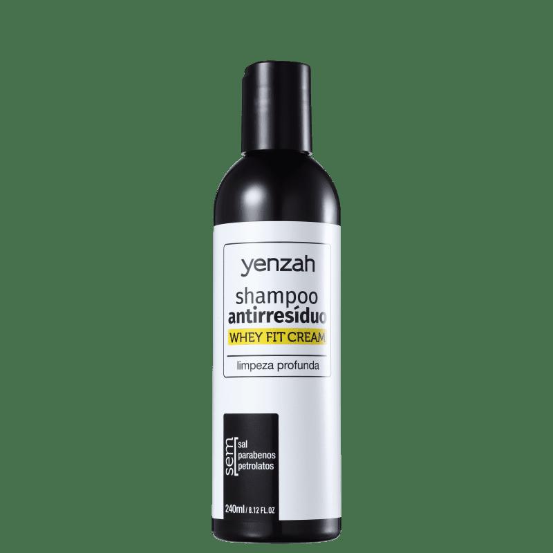 Yenzah Power Whey Whey Fit Cream - Shampoo Antirresíduo 240ml