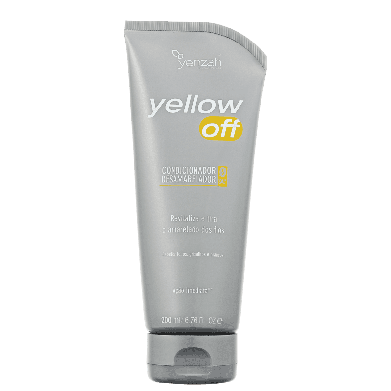 Yenzah Yellow Off Desamarelador - Condicionador 200ml