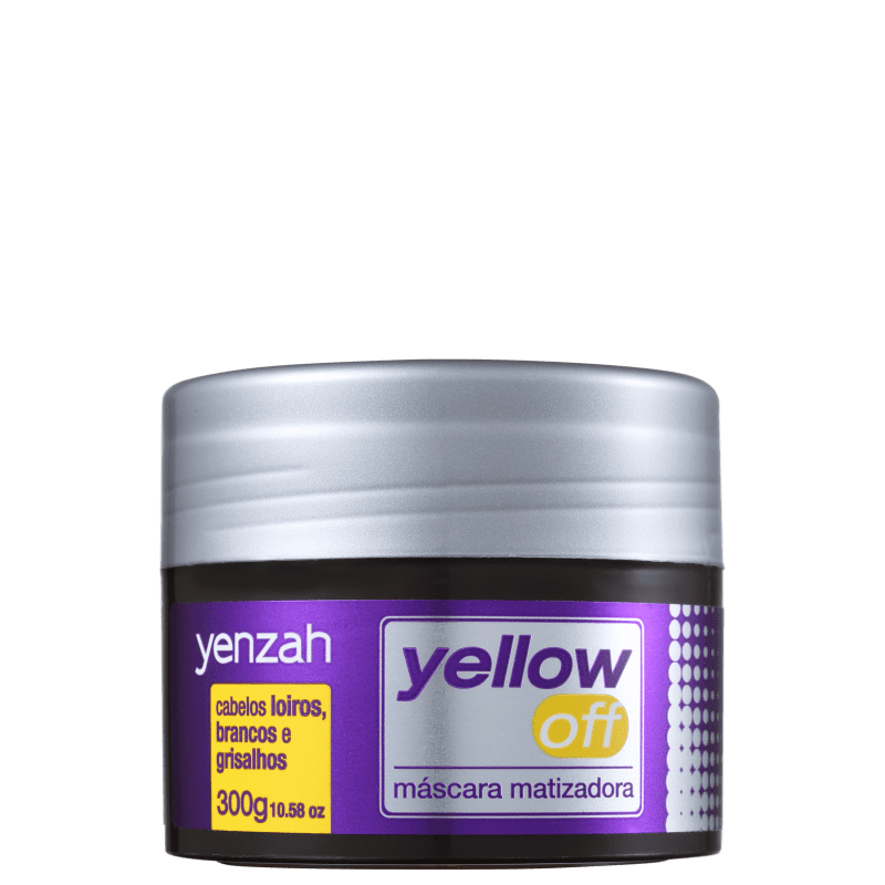 Yenzah Yellow Off - Máscara Matizadora 300g