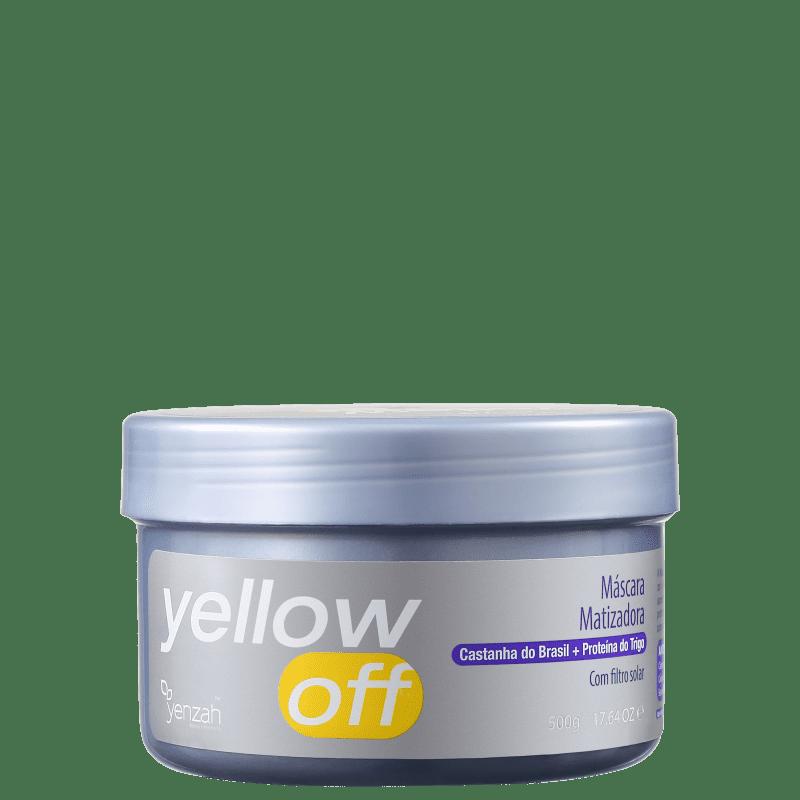 Yenzah Yellow Off - Máscara Matizadora 500g