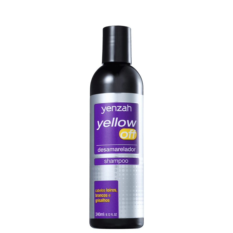 Yenzah Yellow Off - Shampoo Desamarelador 240ml