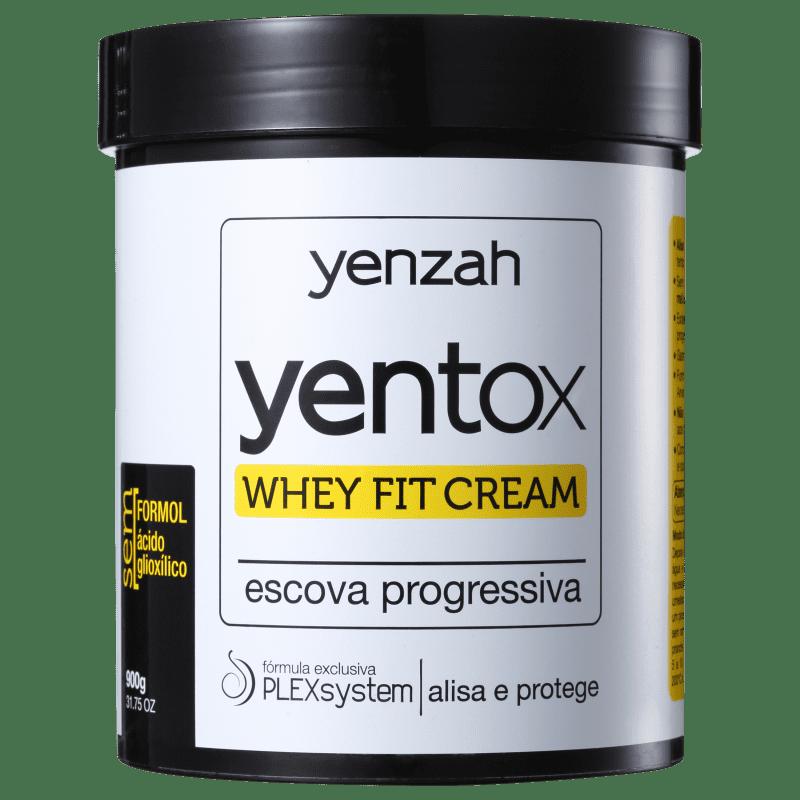 Yenzah Power Whey Yentox Whey Fit Cream - Escova Progressiva 900g