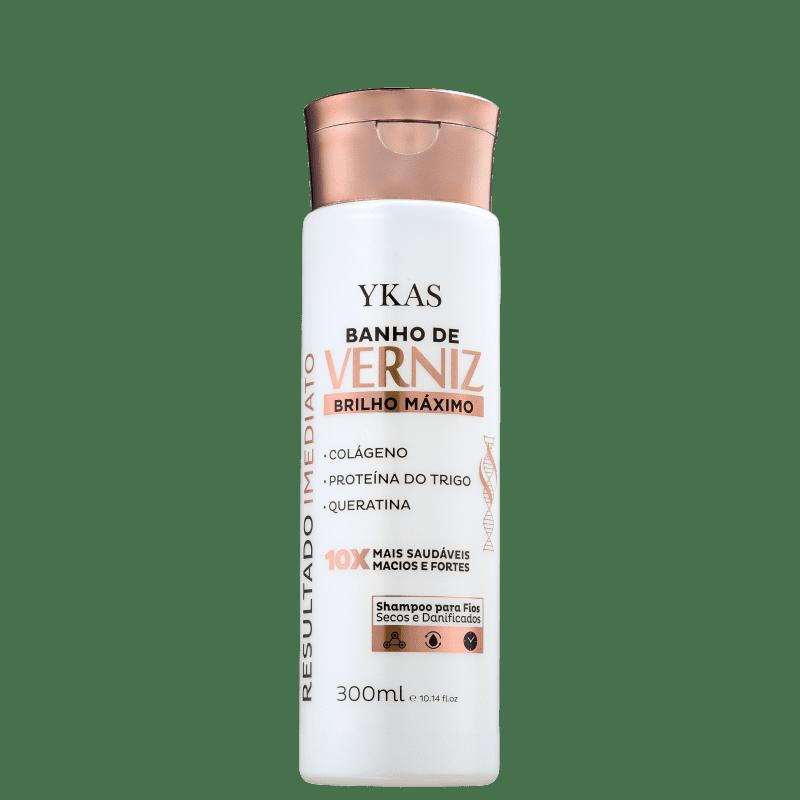 YKAS Banho de Verniz - Shampoo 300ml