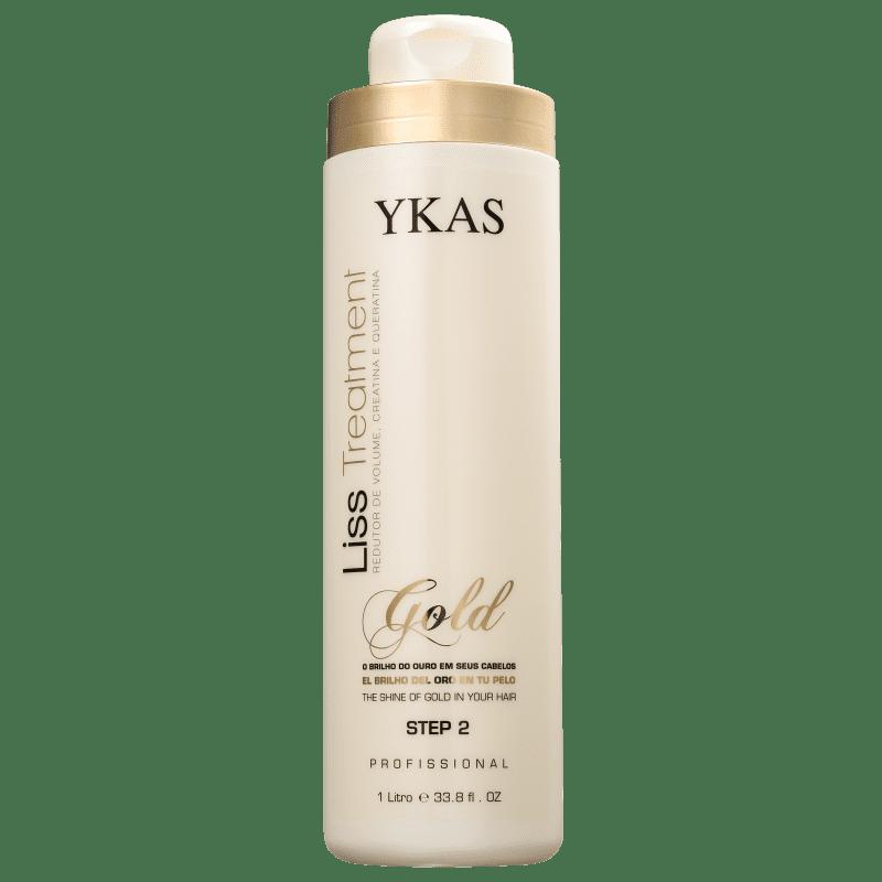 YKAS Liss Treatment Gold Step 2 - Redutor de Volume 1000ml