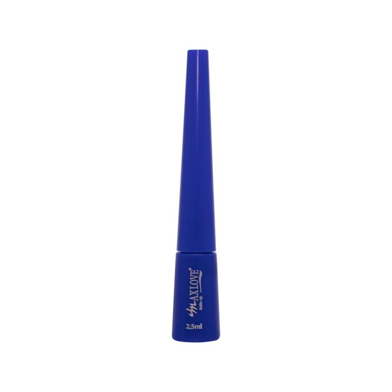 Max Love Delineador Azul - Delineador Líquido 2,5ml