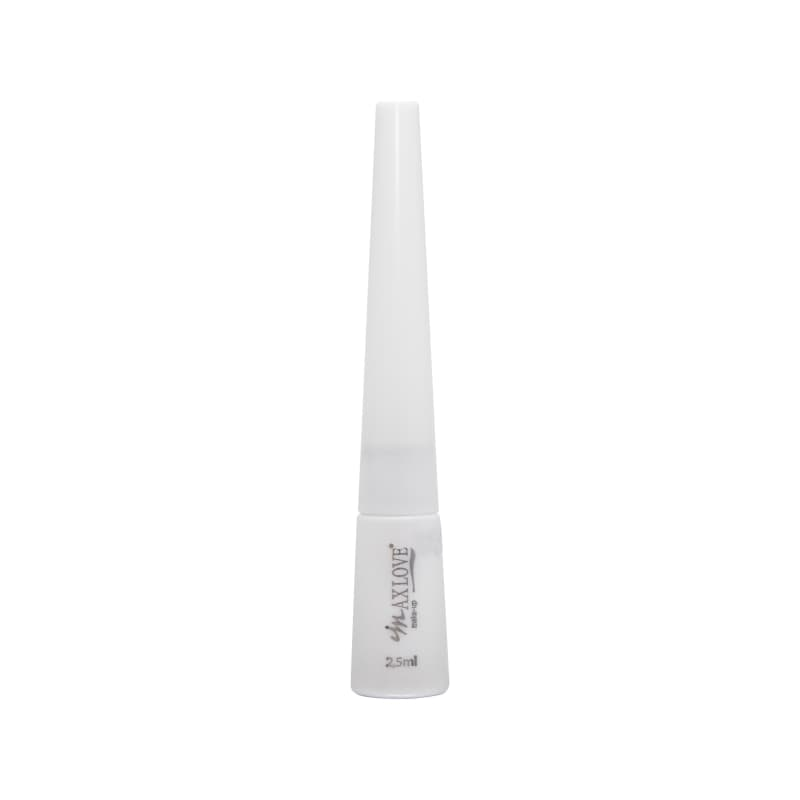 Max Love Delineador Branco - Delineador Líquido 2.5ml