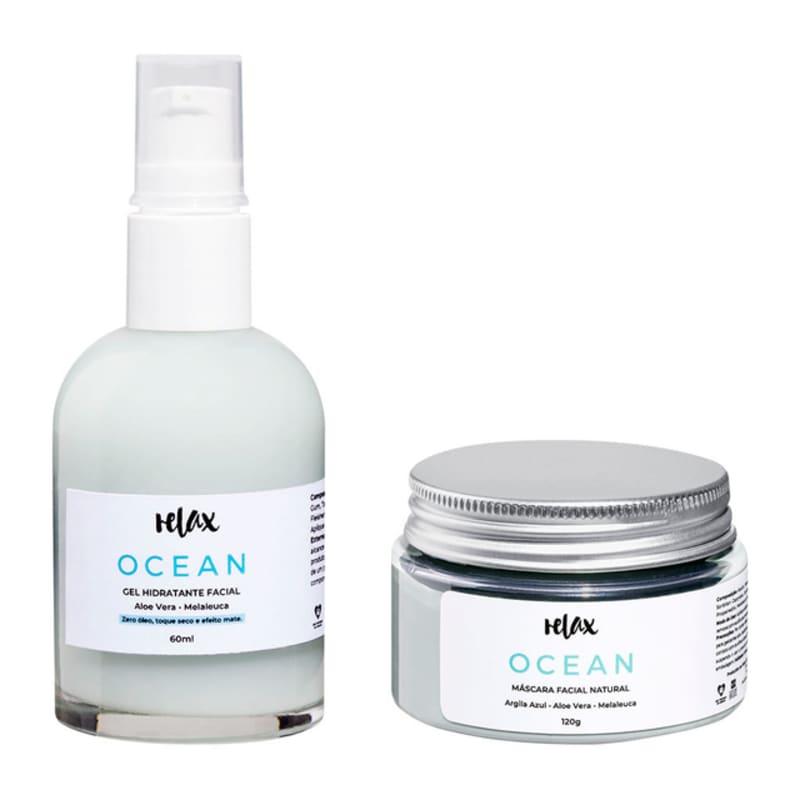 Kit Relax Cosméticos Tea Tree Ocean - Tratamento Natural (2 Produtos)