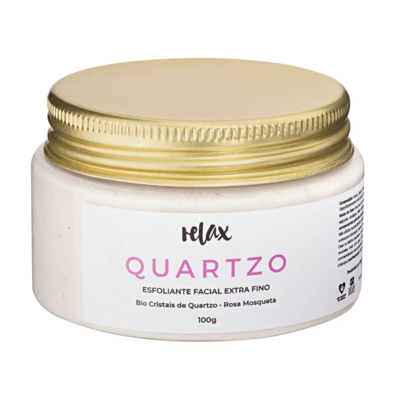 Relax Cosméticos Quartzo - Esfoliante Facial Hidratante 100g