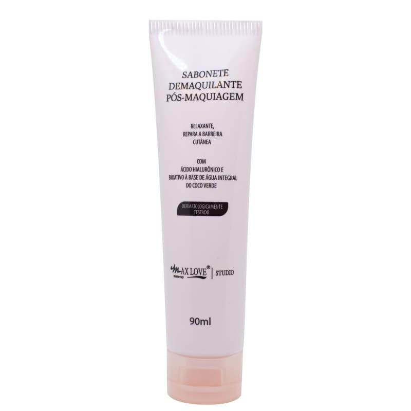 Max Love Sabonete Demaquilante - Sabonete líquido facial 90ml