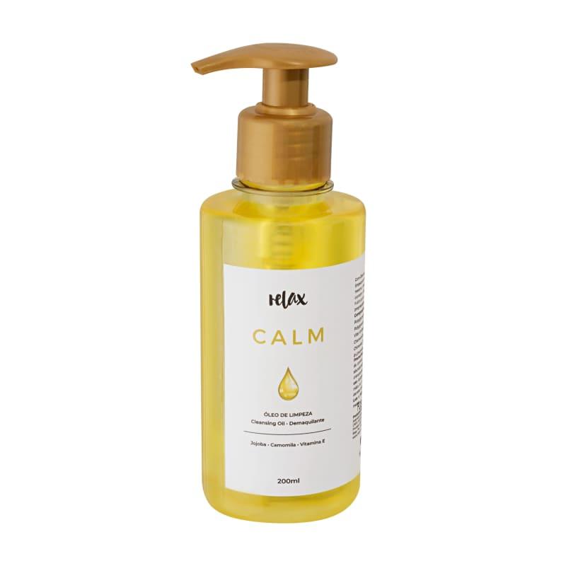 Relax Cosméticos Calm Oil - Limpador Facial Cleasing 200ml